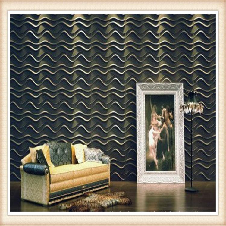 D007 Home Decor Art Designer Exterior 3D Board PVC Acoustic Wall ...