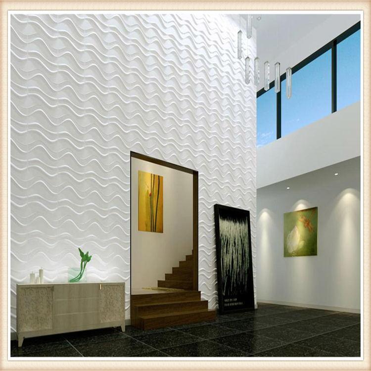 D007 Home Decor Art Designer Exterior 3D Board PVC