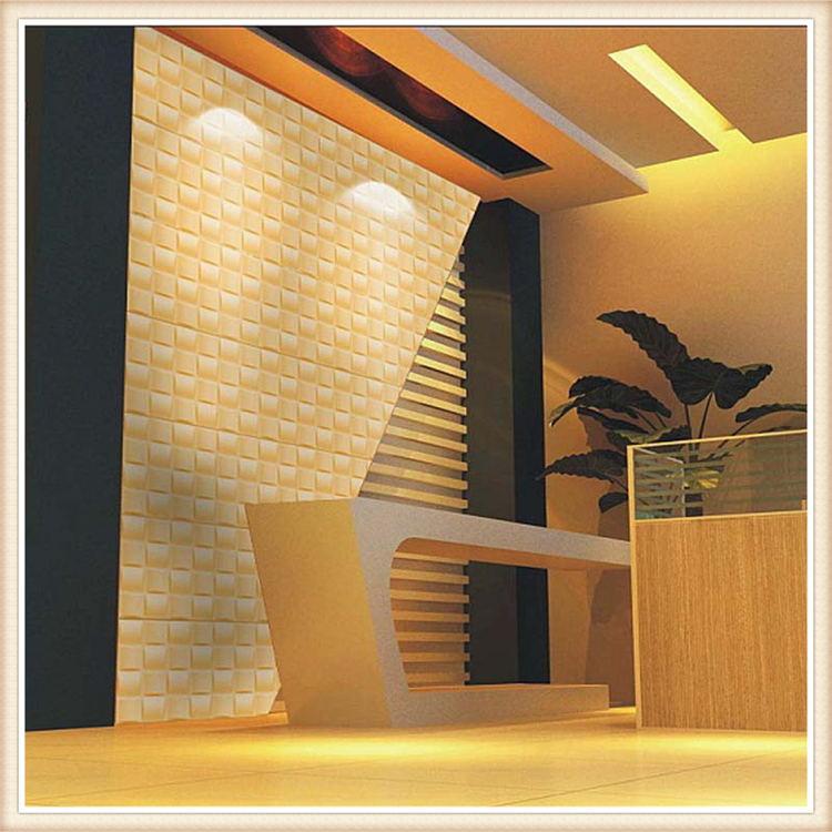 D008 E Co Friendly Pvc Modern Design Wall Decor 3d Effect